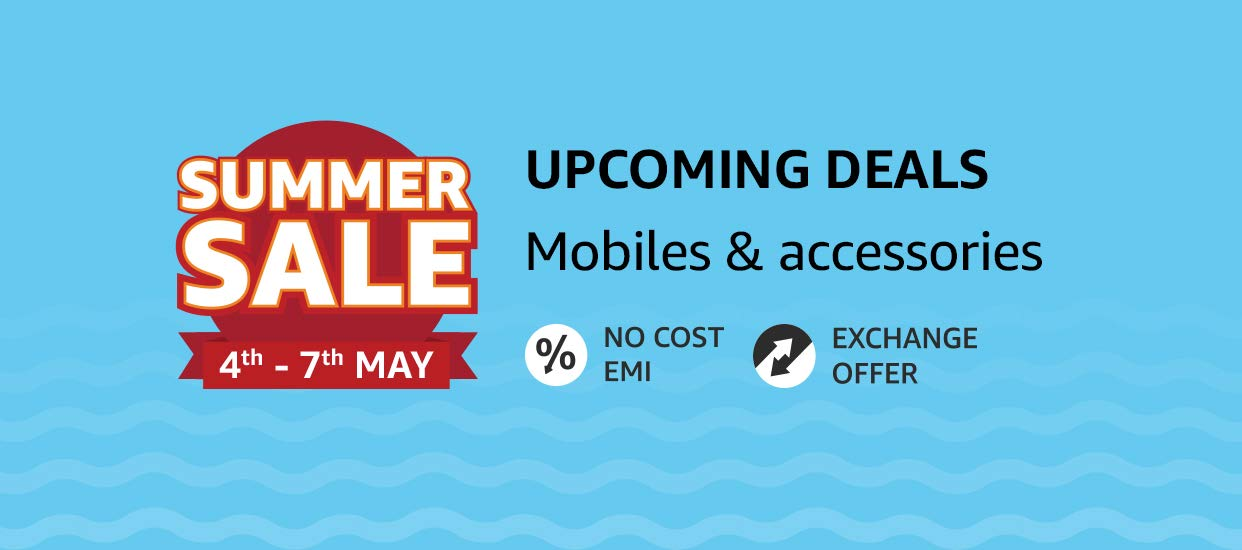 Mobile summer upcoming Sale 4